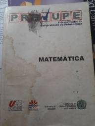 Livro Pré-vestibular da UPE
