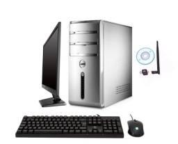 Computador para frente de caixa Dell + DVD-RW + Wifi + 1 ano de garantia em 12x sem juros