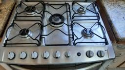 Fogão 5 bocas duplo forno Electrolux