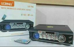 Amplificador Lelong Le-706 Bt/Mp3/Usb-Sd 60W