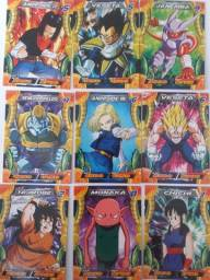 29 cartas tops de dragon ball super