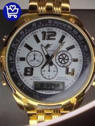 Relógio de ponteiro e Digital (entrega gratis)