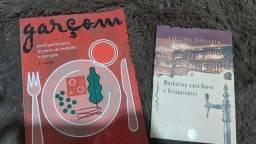 Livros Garçom + Marketing para bares e restaurantes