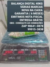 PRODUTOS NOVOS (BALANÇA 40kg)EMITIMOS NOTA GARANTIA ATENDIMENTO FIXO DOMICÍLIO