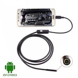 Câmera de inspeção endoscopica 2m