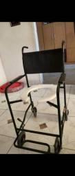 Cadeira de rodas para banho até 85kg