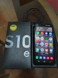 S10e, 128Gb, preto, excelente estado