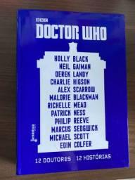 Livro Doctor Who novo