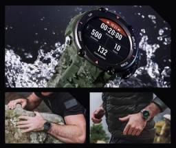 Pronta Entrega Original Smartwatch Amazfit T-rex Relógio Inteligente