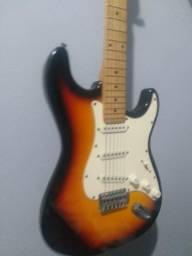 Kit guitarra e cubo Meteoro