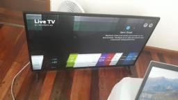SmartTV LG 49 Polegadas com defeito de imagem
