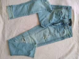 Calça Jeans Lady Rock