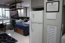 Apartamento flat com 1 quarto no Dna Smart Style - Bairro Setor Bueno em Goiânia