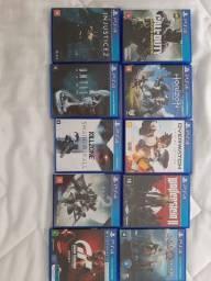 Vendo Kit Jogos PS4