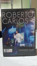 DVD ROBERTO CARLOS - PRIMEIRA FILA