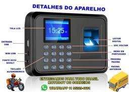 Relógio De Ponto Digital Leitor Biométrico 1000 Cadastros *Enviando Normalmente