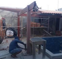 Paulo coberta e telhados reforma Estrutura consertos e reparo