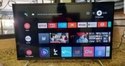 Televisão TCL Smart Com Controle de Voz