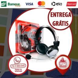 Fone De Ouvido com microfone Headset Celular/Notebook/Ps4/Xbox