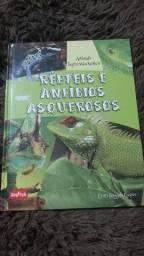 Livro de répteis e anfíbios asquerosos - Animais impressionantes