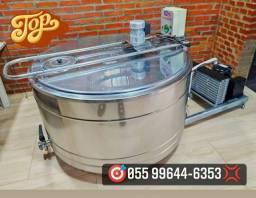 Tanque Agranel Inox Resfriador de 500 Litros