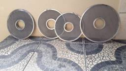 Peneiras / Discos em Aço inoxidável espessura conforme necessidade do cliente
