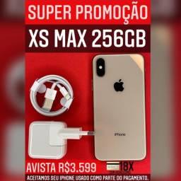 MEGA PROMOÇÃO XSMAX 256GB GOLD
