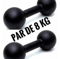 Par de halter 8 kg