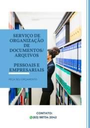 Organização de Arquivos/Documentos: Físicos e Digitais