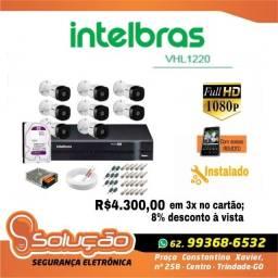 Kit câmera intelbras  vhl 1220 1080P