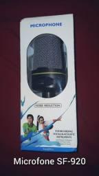 Microfone SF-920 ainda na caixa! Novíssimo