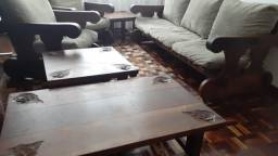 Sofá madeira maciça