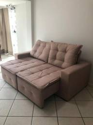 Título do anúncio: Sofá SUPEr confortável com assentos de mola e almofadas de fibras silicone