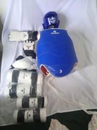 Kit proteção para lutas