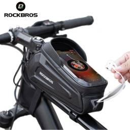 Bolsa bicicleta dianteiro Rockbros