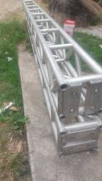 Vendo ou troco 4 estrutura de Alumínio Q30