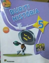 Livro História Buriti 5° ano (Moderna)