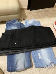 4 jeans por 50