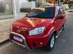 31.990,00 / Ecosport XLT 2.0 2011 Automatico Vermelho Completo - 2011
