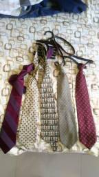 5 gravatas semi novas
