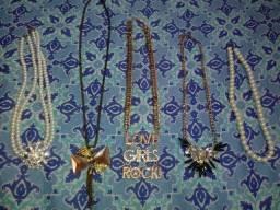5 colares, preço ótimo!!!