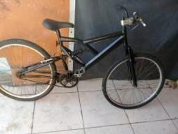 Bike guadro e garfo de amortecedores cachimbo Mônaco