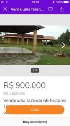 Vende propriedade 10 km Alcobaça Bahia