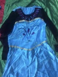 Vestido Elsa/Frozen adulto