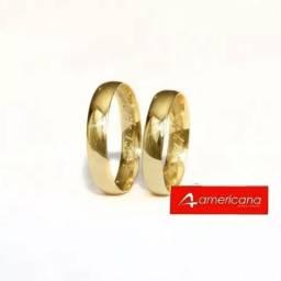 Alianças de ouro 18k/750