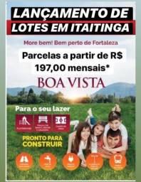 Loteamento Boa Vista, com infraestrutura completo!