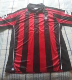 Camisa Futebol Athletico Paranaense - Original - Titular - Patrocínio HDI  Seguros 7c21f3ec62e9e