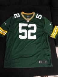 Camisa futebol americano NFL Green Bay Packers 209fd0a9c71