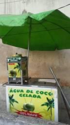 Barato carrinho de coco