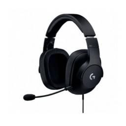 Headset Logitech Gamer Pro Black 3.5mm - Loja Fgtec Informática